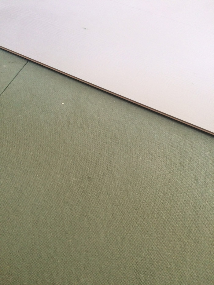 ondervloer leggen laminaat