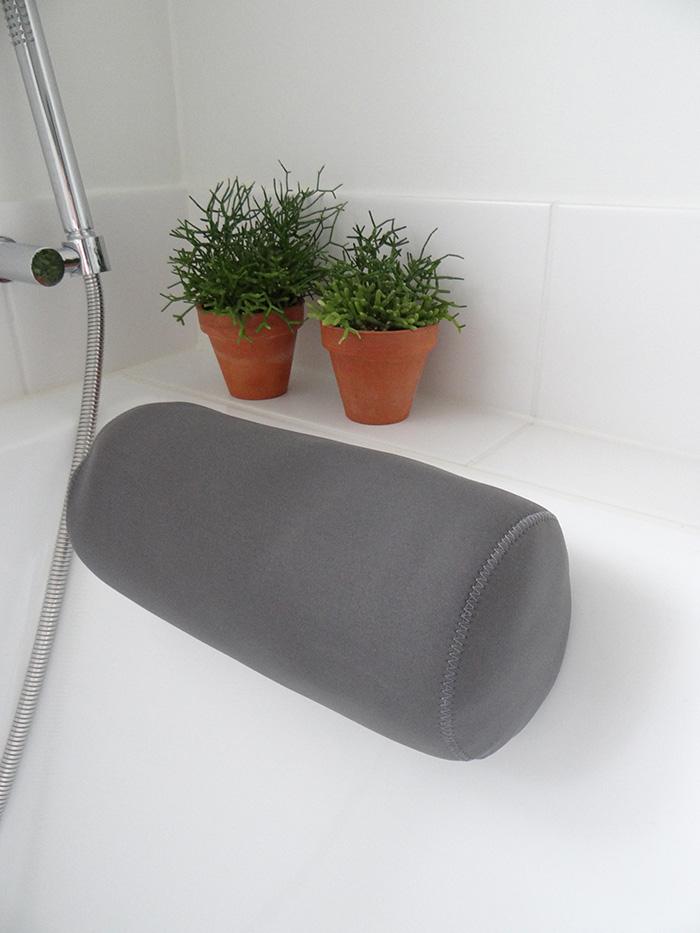 badkussen grijs