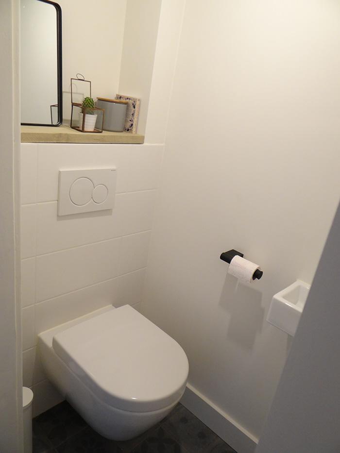 toilet met accessoires
