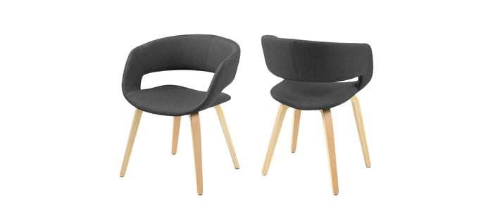 zwarte stoelen leen bakker