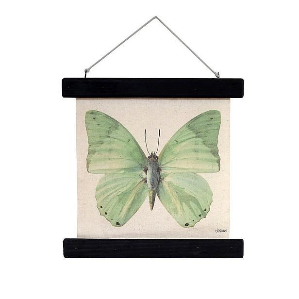 vintage print vlinder