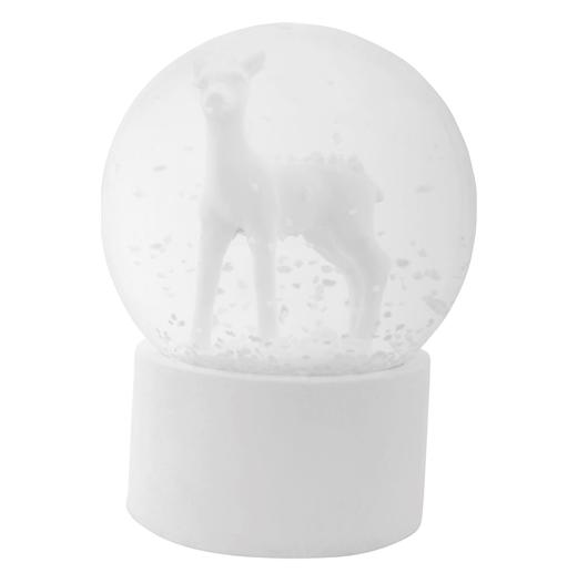 rendier in sneeuwbol