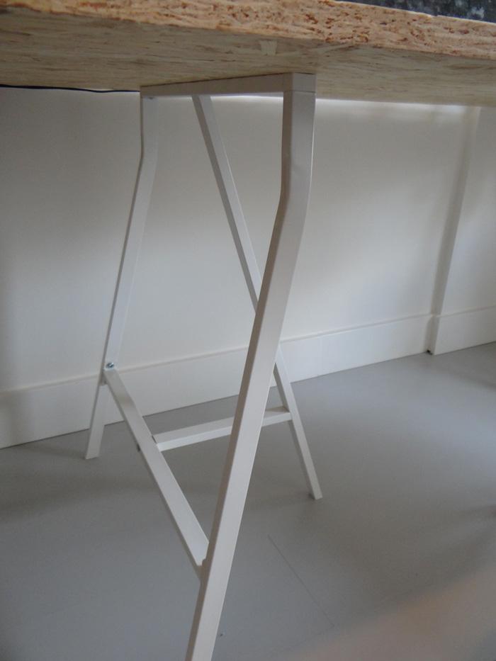DIY bureau spaanplaat