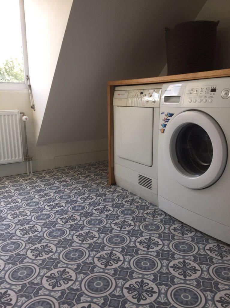 vinyl vloer washok