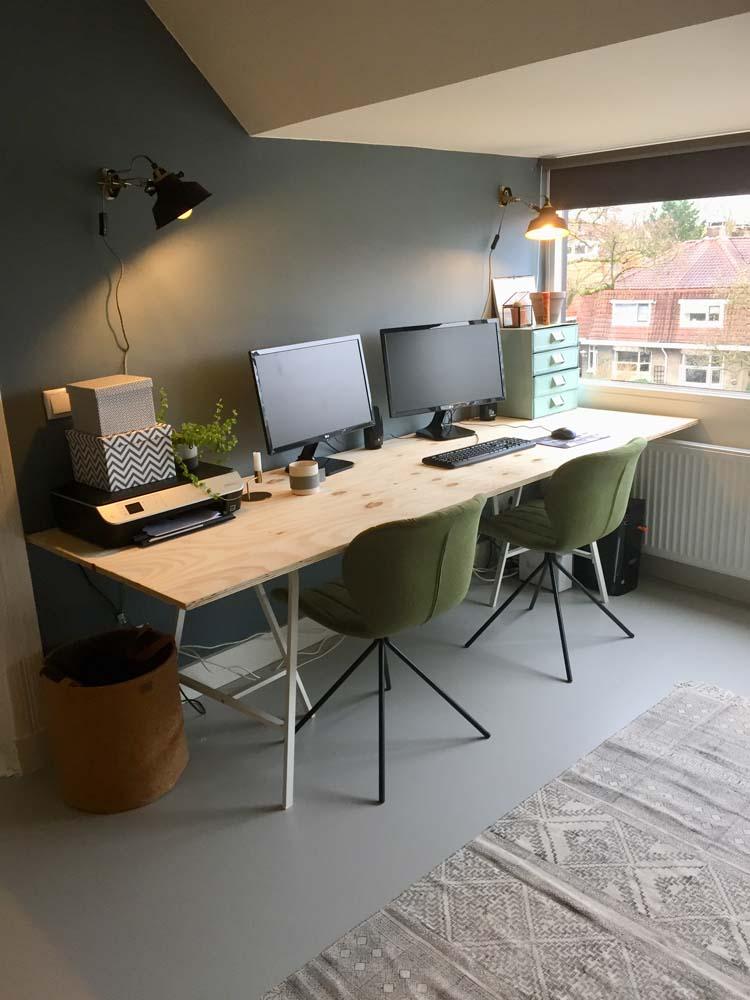 werkplek diy bureau