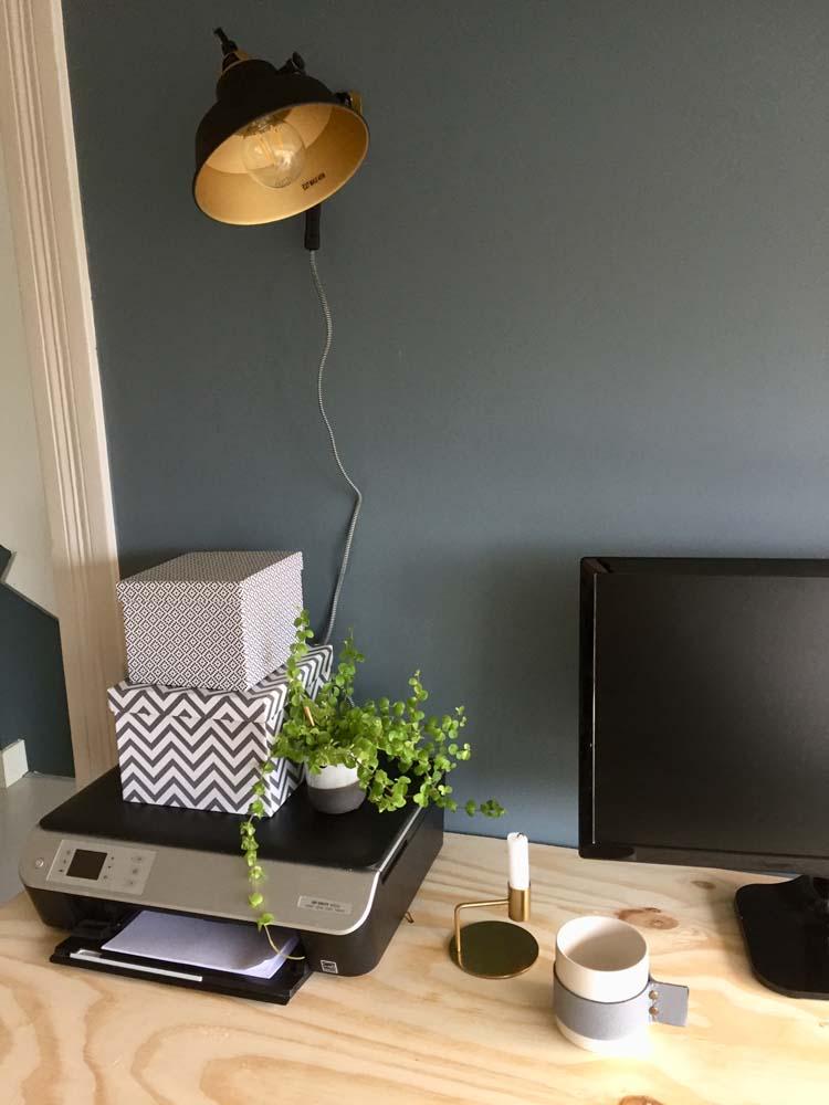 wandlamp bureau
