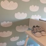 Babykamer behangen – Sneak peek van de babykamer