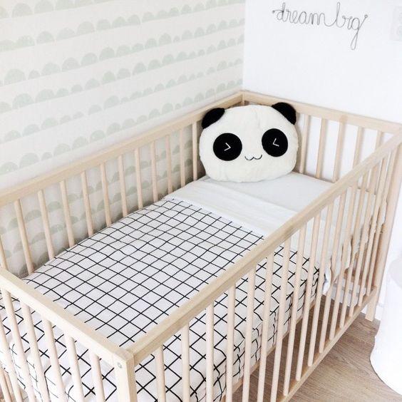 babybedje panda