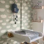 Eindresultaat van onze babykamer
