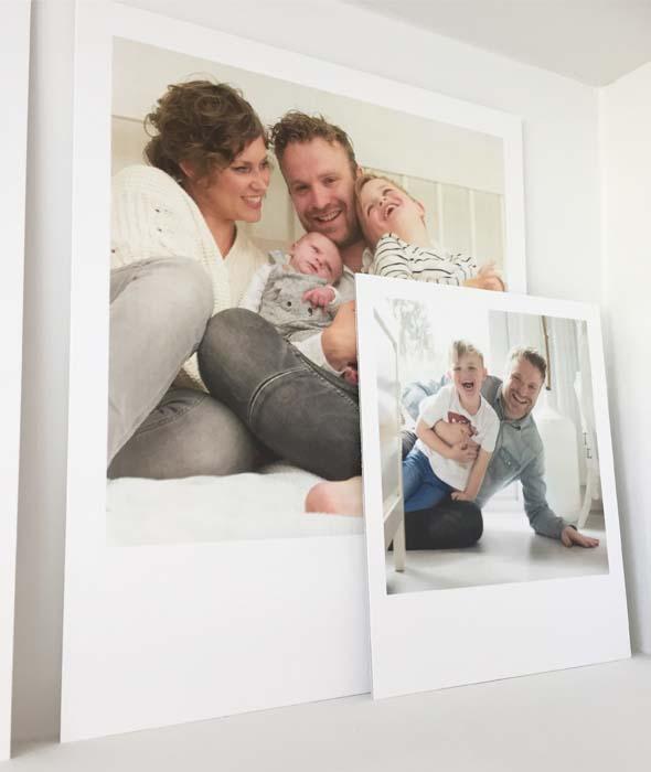 polaroid groot gezin