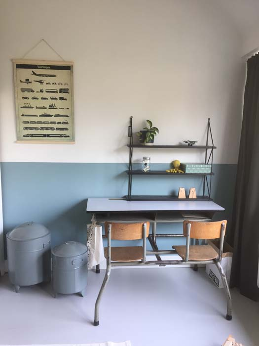 school bureau lambrisering
