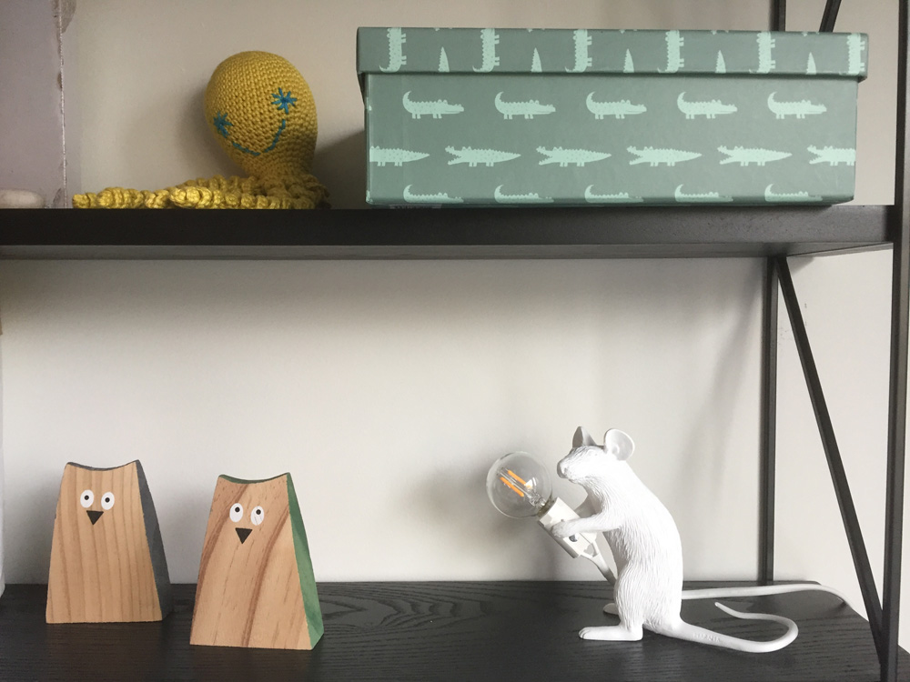 witte mouse lamp