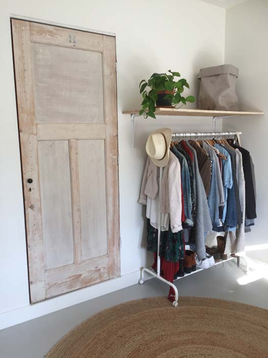 plank kledingrek kleding