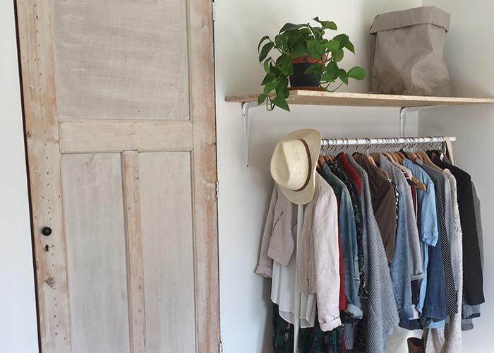 slaapkamer oude deur