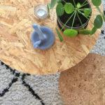 Vitra kruk en bijzettafel