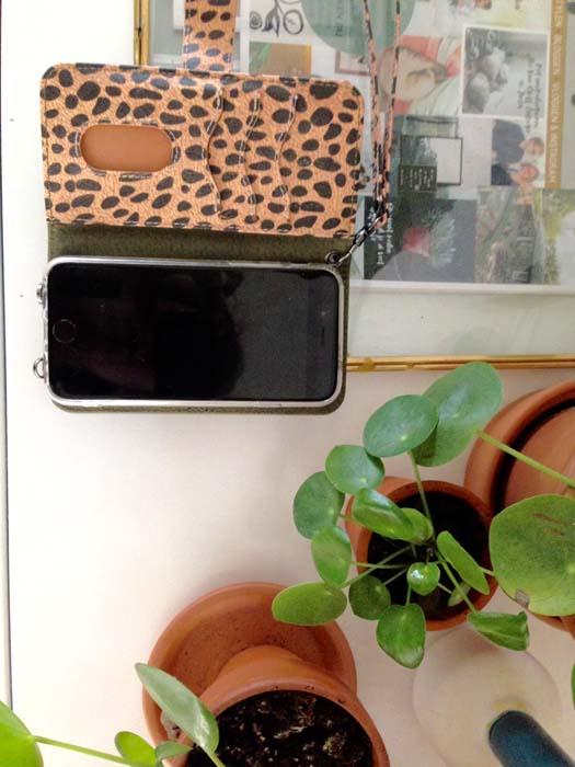 luipaardprint telefoonhoesje