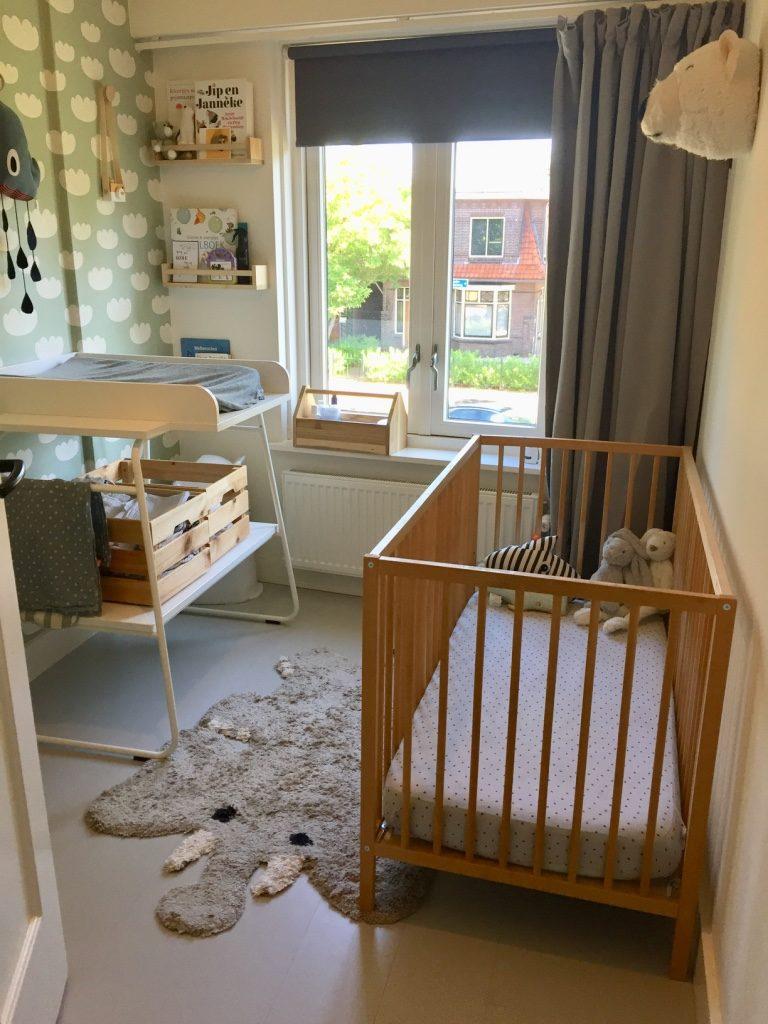 Babykamer met dieren kleden