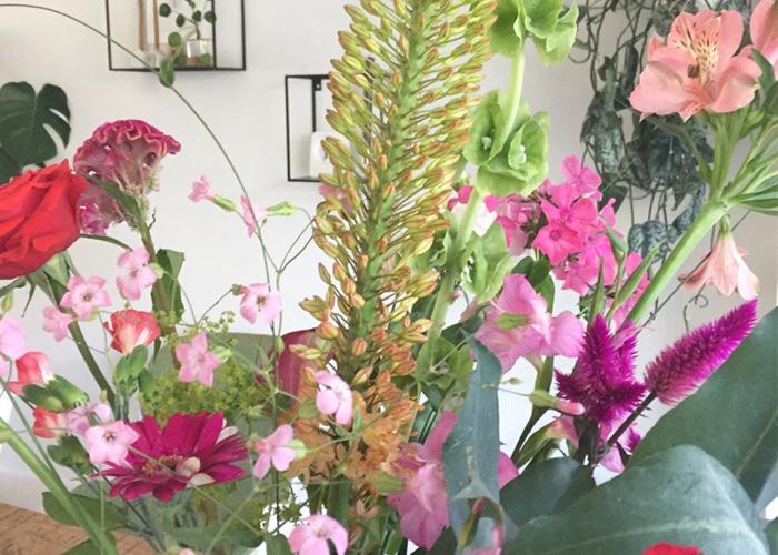 zelf boeket maken bloomon