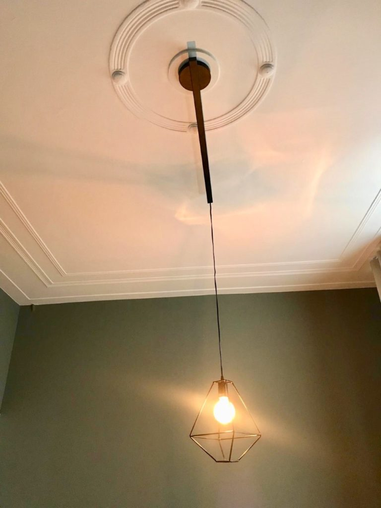 lightswing lamp ornamenten plafond